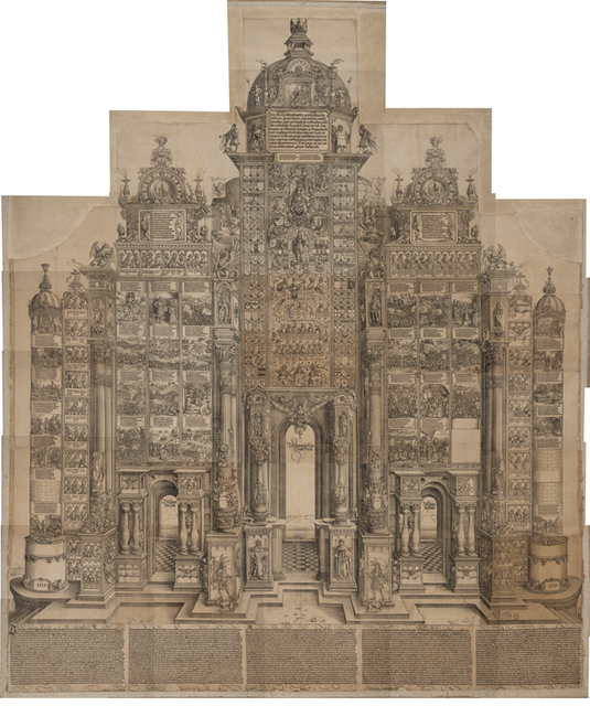 , 'The Arch of Honour of Maximilian I,' 1515, Statens Museum for Kunst