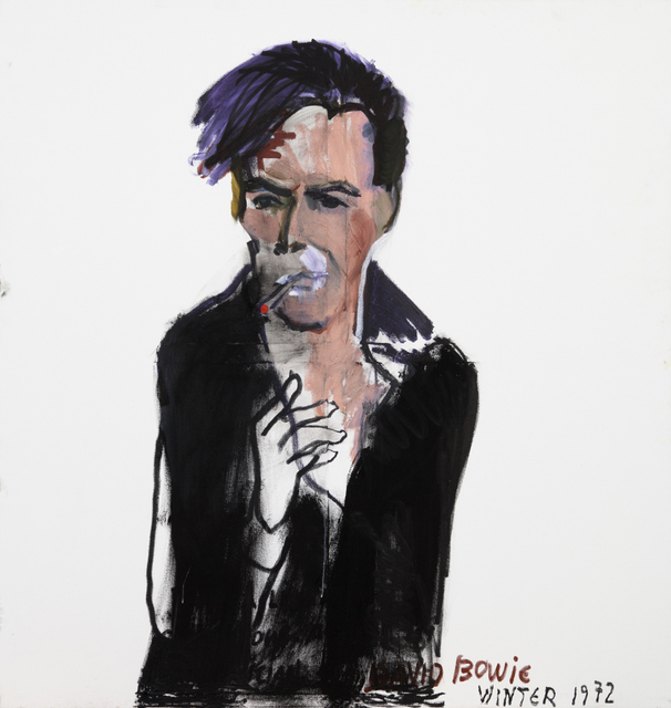 , 'David Bowie Winter 1972,' 2015, Zemack Contemporary Art