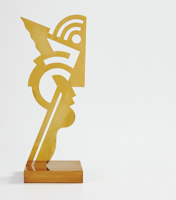 Roy Lichtenstein, 'Untitled Head I', 1970, Sculpture, Brass, Phillips