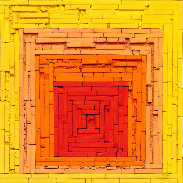 Vik Muniz, 'Metachrome (Homage to the Square: Glow, after Joseph Albers)', 2016, Xippas