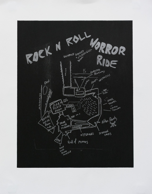 , 'Rock and Roll Horror Ride,' 2015, Gallery 16
