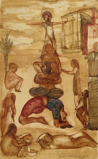 , 'Family of Street Performers,' 1988, AkaraArt