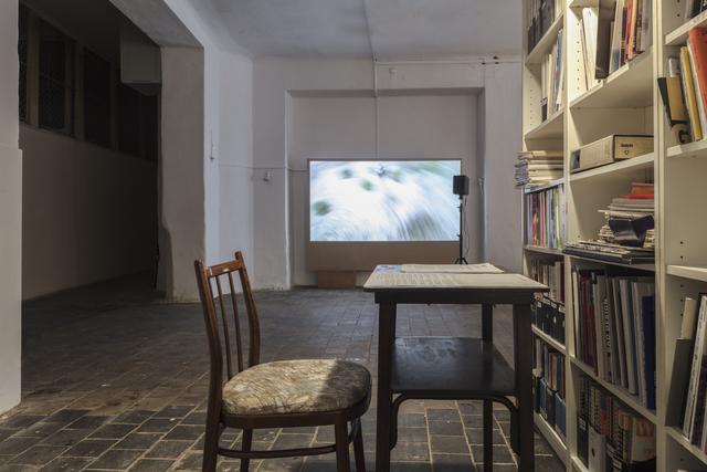 , 'Hyphen (The Pit of Babel) | Pomlčka (Babylonská jáma),' 2018, EFA Project Space