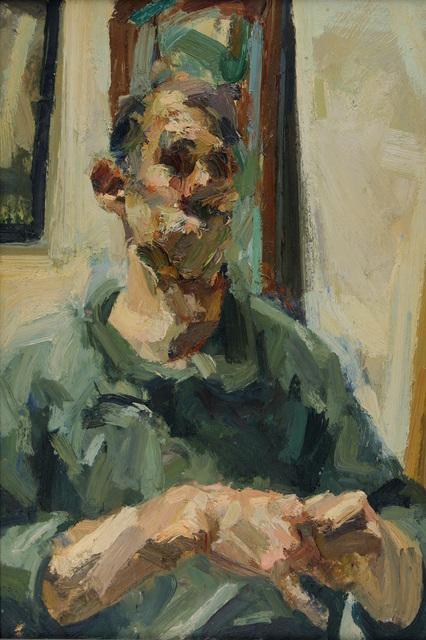 , 'Self Portrait,' 1991, Flowers