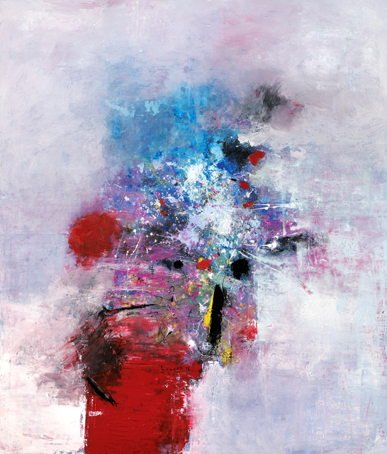 , 'Violett(a),' 2016, Galerie Artziwna