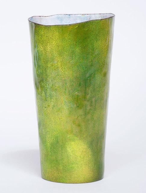 Gio Ponti, 'Paolo de Poli Vase', ca. 1950, Design/Decorative Art, Enameled copper, Patrick Parrish Gallery