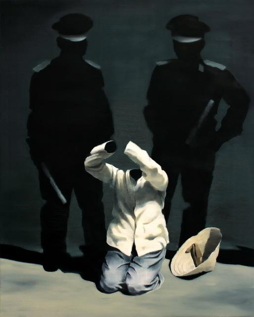 , 'Black painting No.106,' 2013, Primo Marella Gallery