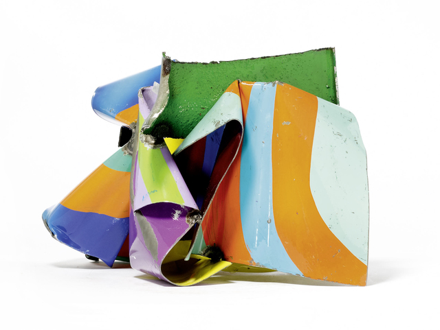 John Chamberlain, 'Whimblow', 2006, Sculpture, Painted and chromium plated steel, Galerie Schwarzer