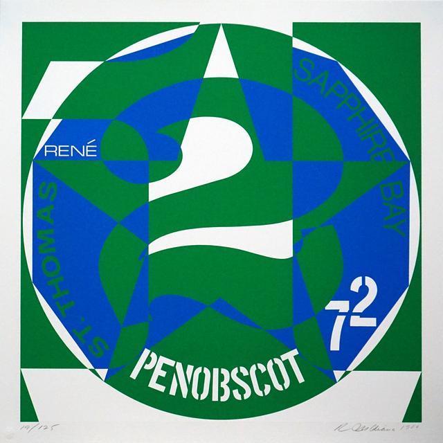 , ' DECADE: Vinalhaven Suite Autoportrait #2: PENOBSCOT,' 1980, Pascal Fine Art