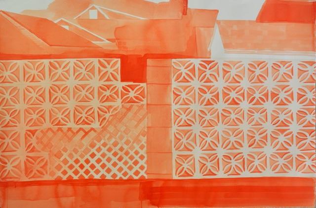 , 'Wall (mend, lattice),' 2017, Red Arrow Gallery