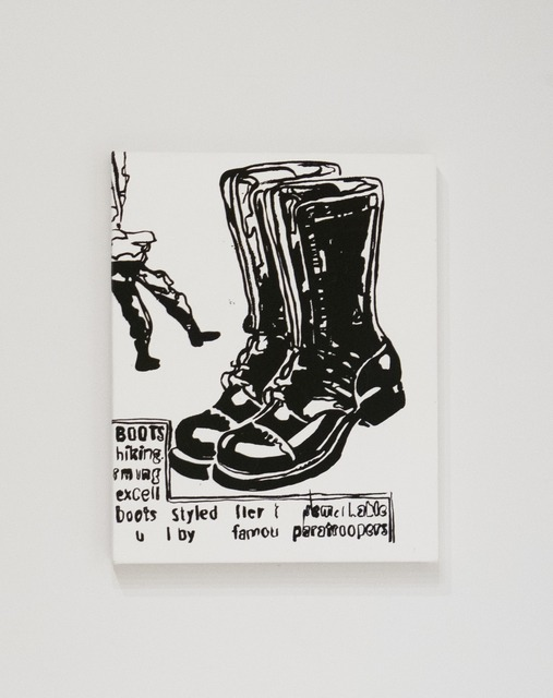 , 'Paratrooper Boots,' ca. 1985, Sperone Westwater