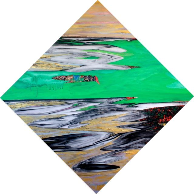 Javier David Ramos, 'Espejismo V', 2013, Painting, Acrylic on linen, Biaggi & Faure Fine Art