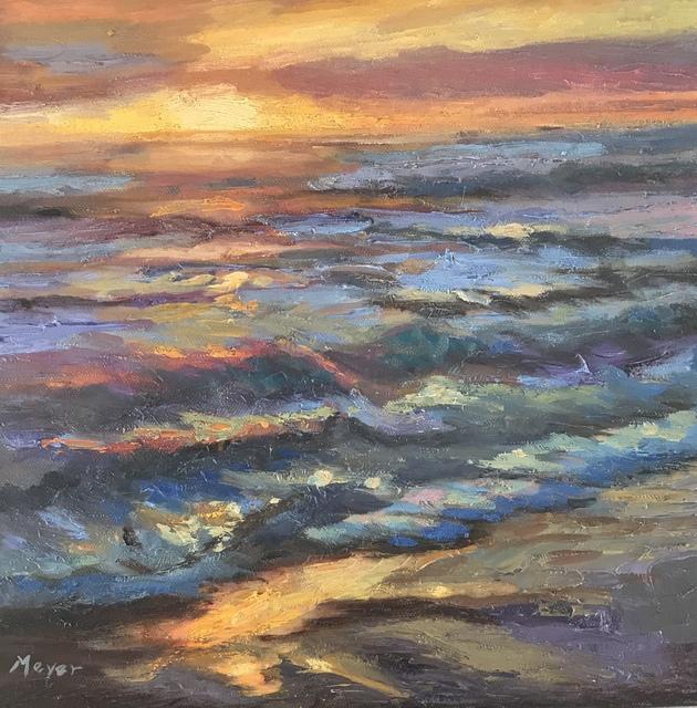 , 'Making Waves III,' 2018, Meyer Vogl Gallery