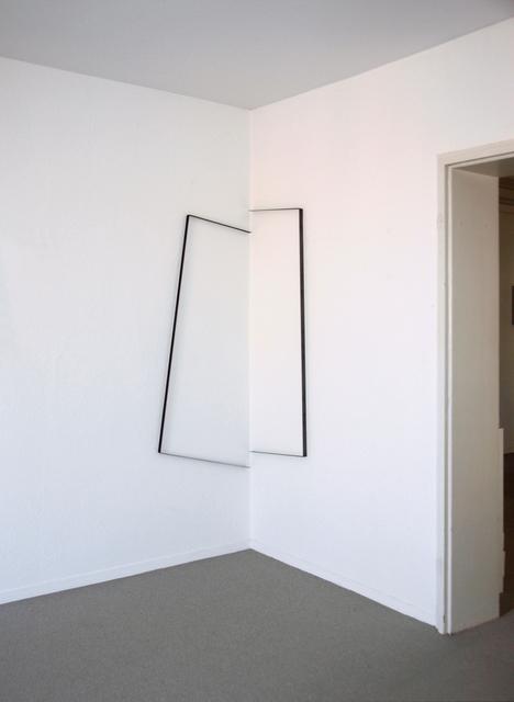 , 'raumlinien 26, 2tlg.,' 2013, Edition & Galerie Hoffmann