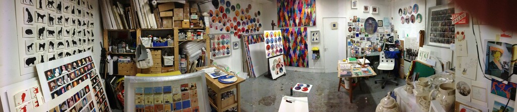 Holly Frean's studio