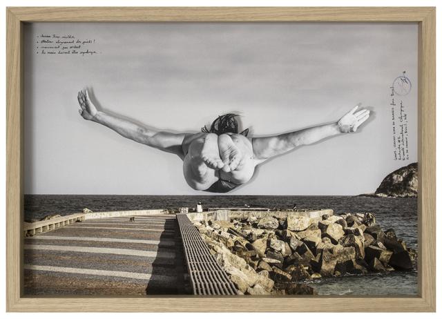 , 'GIANTS, Cleuson LIMA DO ROSARIO from Brazil, Recherche #2 © Comité international Olympique, Rio de Janeiro, Brazil, 2017,' 2017, Lazinc