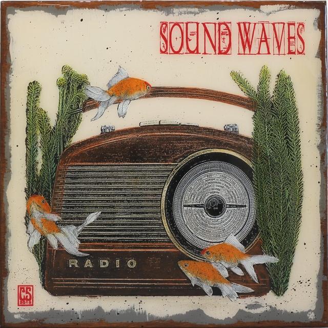 Carl Smith, 'Sound Waves', 2018, Artspace Warehouse