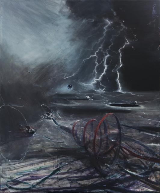 , 'Stardust Hermit,' 2017, Gagosian