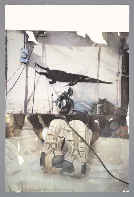 Robert Rauschenberg, 'Environment (Tribute 21)', 1994, Print, Offset lithograph, San Francisco Museum of Modern Art (SFMOMA)