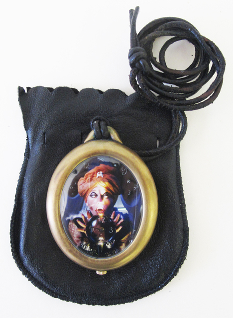 , 'Brass Fortune Teller Brass Pocket Watch,' 1993, Nohra Haime Gallery