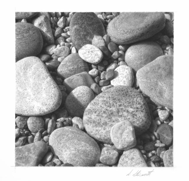 , 'Beachstones #3,' 2018, M.A. Doran Gallery