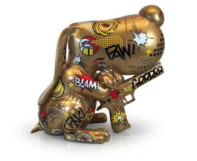 F&G, 'Goldy Bang- (Pitchou Cute)', 2019, Eden Fine Art