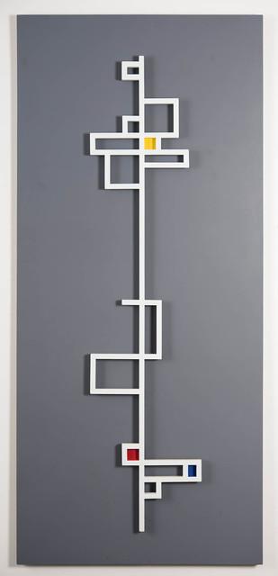 , 'Key - Linear White,' 1950, Galería de las Misiones