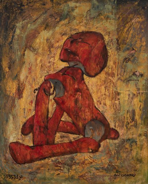 Lorenzo Alessandri, 'Bambola Rossa N4', Itineris