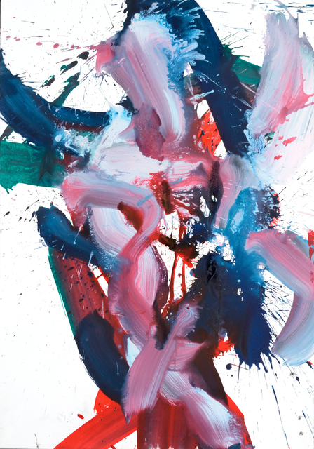 , 'Tanzblatt (Dancing figures),' 2000-2012, Galerie Artziwna