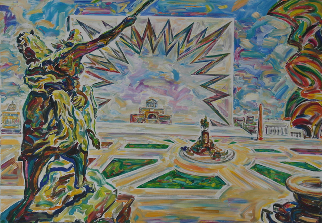 """, '""""Denkmal Friedrich II"""",' 2015, Krokin Gallery"""