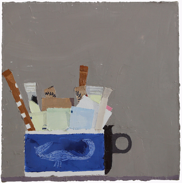 , 'Still Life with Sugar Packets and Cup #1,' 2015, Kathryn Markel Fine Arts