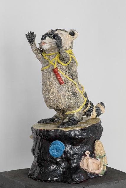 , 'Racoon,' 2018, Marie Kirkegaard Gallery