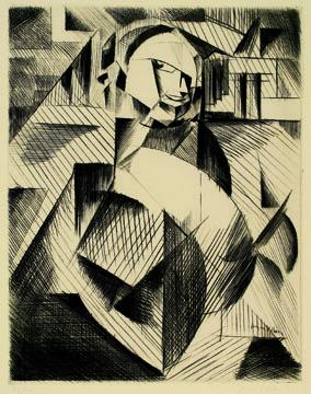 , 'Portrait d'Acteur,' 1913, Daniela Laube Fine Art