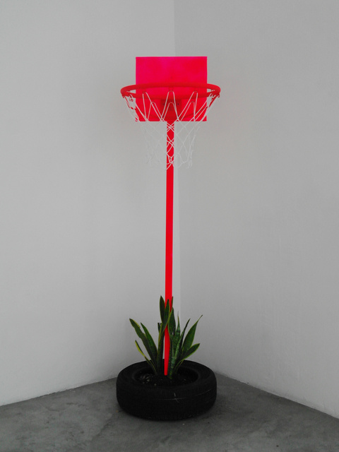 , 'Sin título (Canasta Llanta Apartador),' 2017, Celaya Brothers Gallery