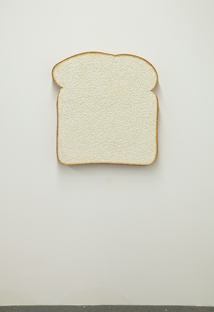 , 'Untitled (White Bread),' 2013, Luhring Augustine