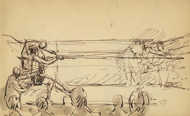 , 'War Council,' 1929, Anthony's Fine Art