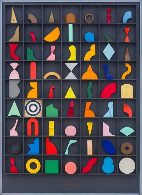 Lucio del Pezzo, 'Casellario', 1986, ArtRite