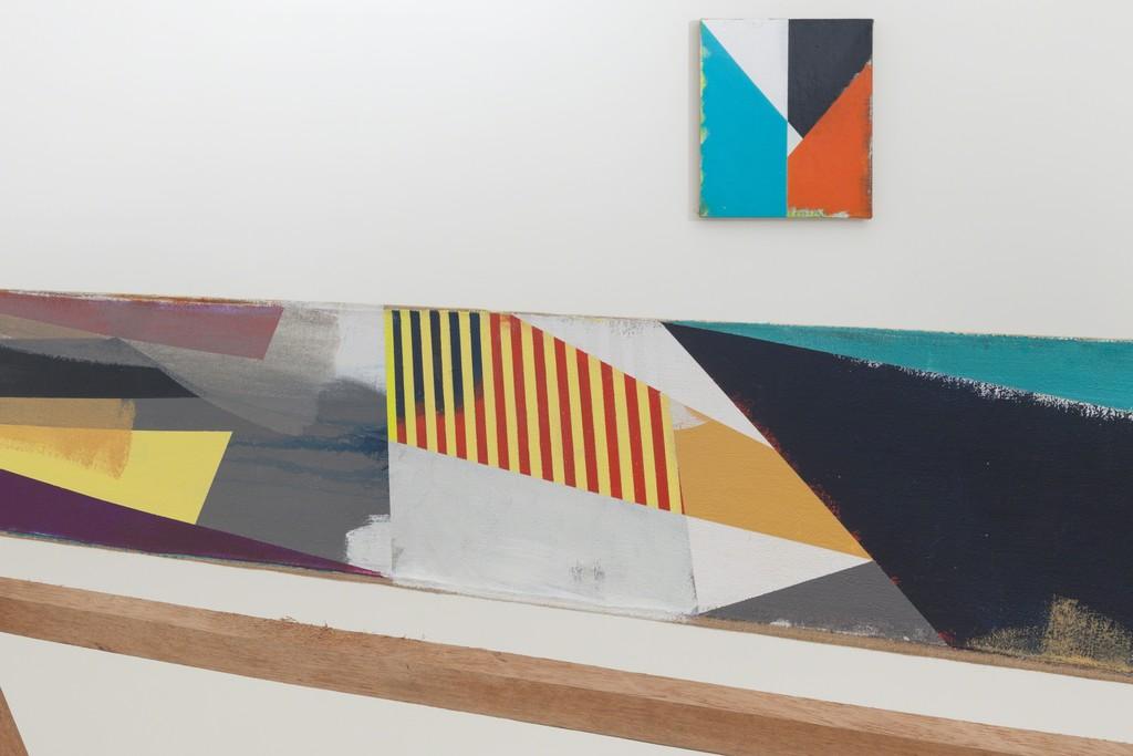 Front to back: Jaime Gili — Tercer derecho (2015) / B38 (2015)