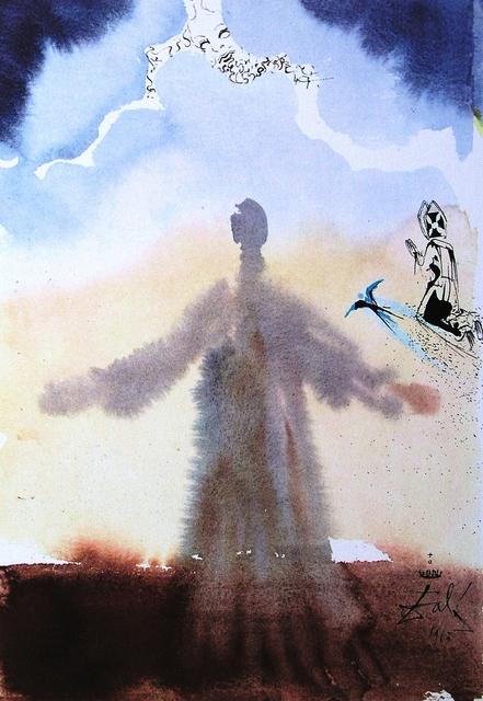 Salvador Dalí, 'Paternoster Suite - Amen', 1966, Print, Original color lithograph on wove paper, Baterbys