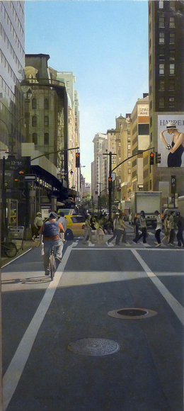 , '32nd & Broadway,' 2011, Bernarducci Gallery