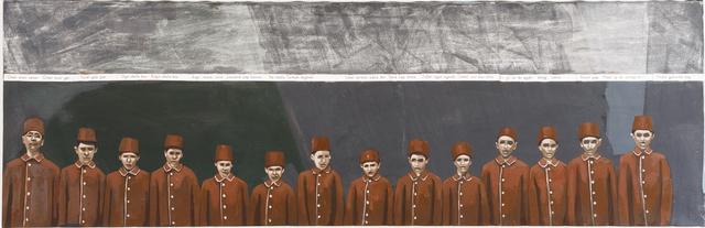 Ihsan Oturmak, 'Letter revolution I', 2015, Karavil Contemporary