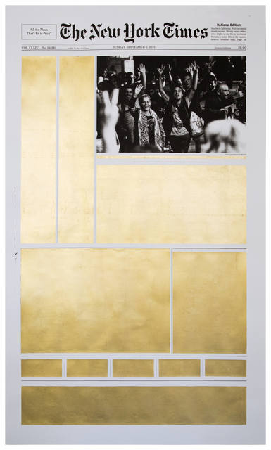 , 'September 6, 2015,' 2016, Galerie Kornfeld