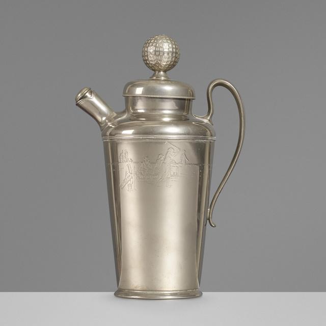 International Silver Company, 'Cocktail shaker', c. 1925, Wright