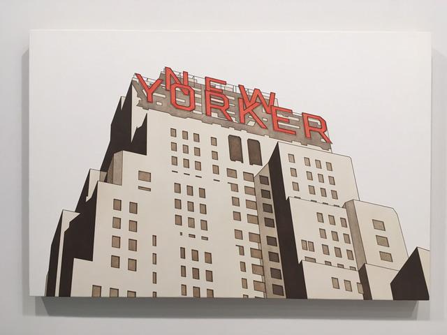 William Steiger, 'New Yorker #3', 2018, Margaret Thatcher Projects