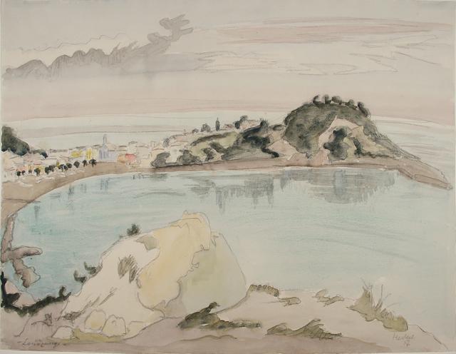, 'Landzunge,' 1957, Henze & Ketterer