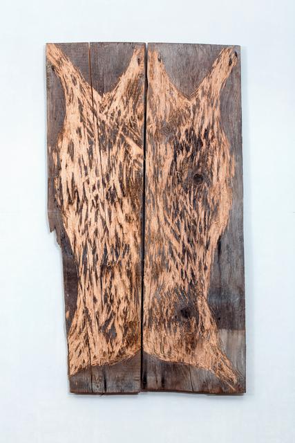 Nestor Engelke, 'WOODEN SKIN', 2017, Anna Nova Gallery