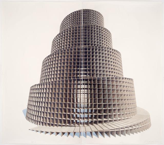 , 'Babel Gris,' 2017, Galerie Peter Kilchmann