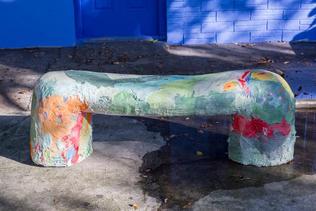 , 'Benglish Bench,' 2015, Nina Johnson