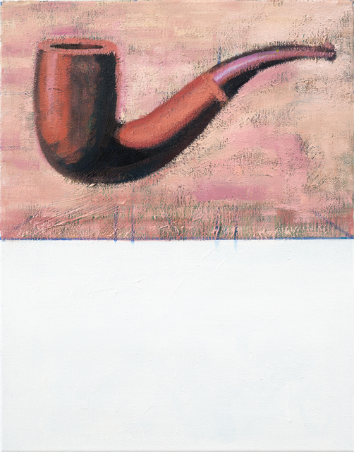 Jochen Plogsties, '26_14 (Ceci n'est pas une pipe)', 2014, Painting, Oil on linen, kestnergesellschaft
