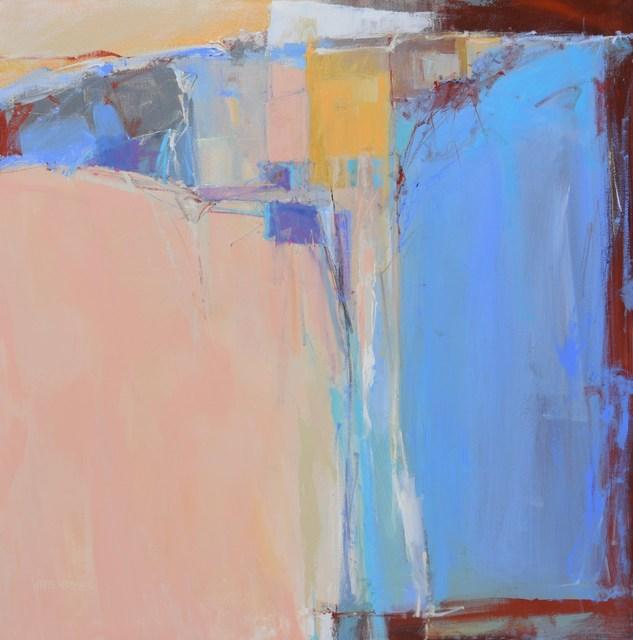 Bernie White Hatcher, 'Far Away Places', 2019, Painting, Acrylic on Canvas, Springfield Art Association